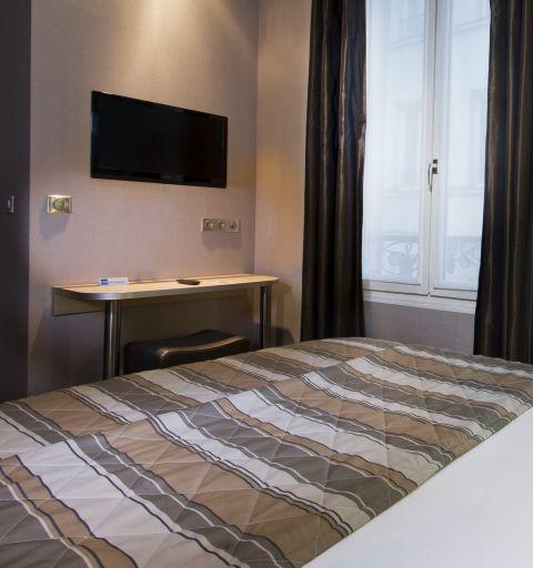 Hotel des Pavillons Paris  Habitación Individual
