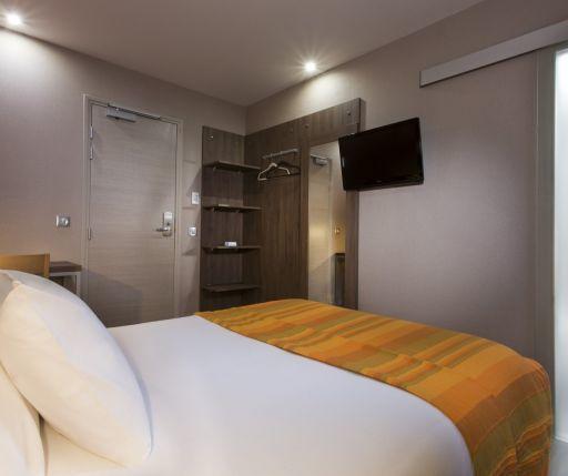 Hotel des Pavillons Paris  单人加床房