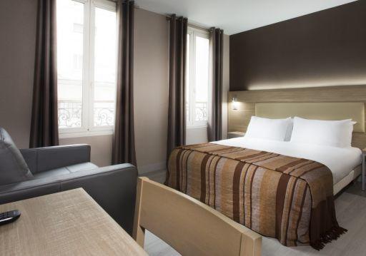 Hotel des Pavillons Paris  三人房